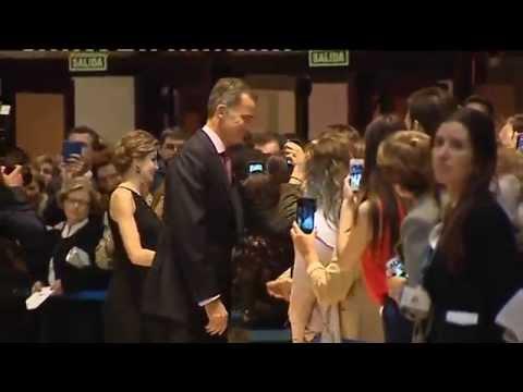 SS.MM. los Reyes en el Concierto de los Premios Princesa de Asturias