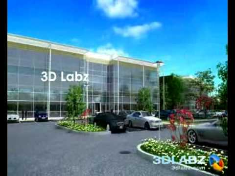 3D Walk through Animation Waterside Business Park, United Kingdom