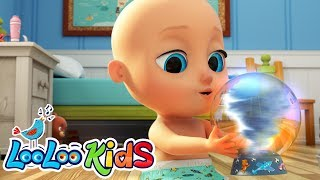 He's Got The Whole World In His Hand - Best SONGS for KIDS | LooLoo KIDS