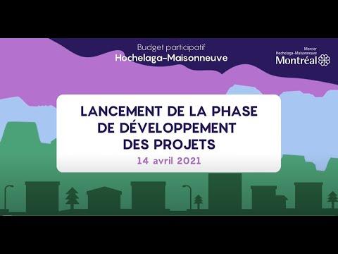 Lancement de la phase de développement de projets du budget participatif Hochelaga Maisonneuve