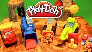 Play Doh Diggin Rigs Play Doh Eggs Play Doh Trucks Cars Easter Eggs Surprise Eggs Hasbro Toys