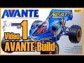 Tamiya AVANTE Build / Video 1 / Steps 1-6