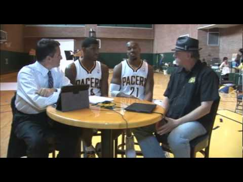 2012-13 Media Day: Paul George & David West