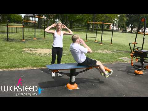 Sit Up Bench - Outdoor Fitness Equipment