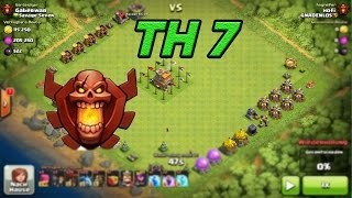 Clash of Clans [ Champ mit TH 7 ] MEGA WTF Base