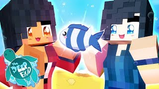 ItsFunneh and Aphmau Minecraft Survival - How Fish Work!