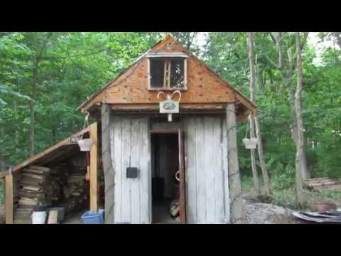 Cabin In The Bush Built For Less Than 200$