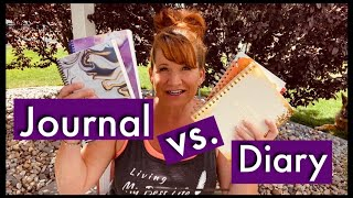 What's Best For You? Do You Want To Keep A Record Or Create A Vision? Writing In A Journal VS Diary