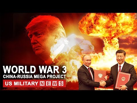 WORLD WAR 3 On the Brink: China and Russia Nuclear Powered Aircraft Carriers Mega Project