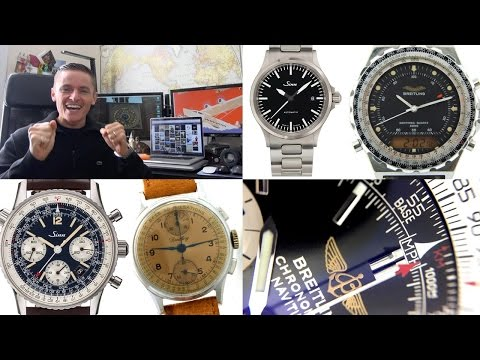 How To Decide Which Watch To Buy -  Best Used Sinn & Breitling Ebay Deals Of The Week $1000 to $4000