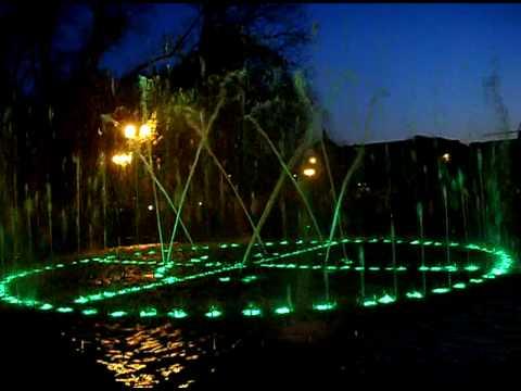 fountain in Maykop