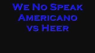 DJ Nimmz - Americano vs Heer
