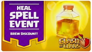 Healing Spell Event | Clash of Clans Romania