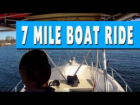 Long Island Sound Boat Ride / New Rochelle to Mamaroneck