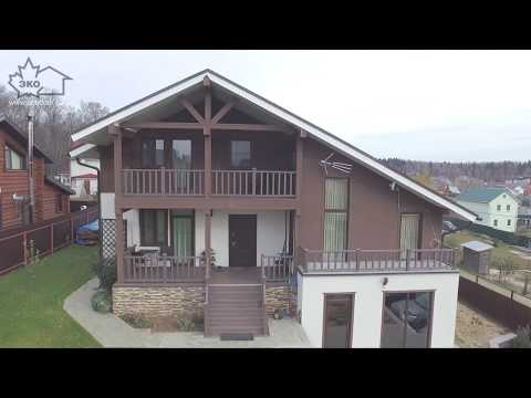 видео: Дом из sip панелей под ключ  - что это такое. Обзор дома, построенного компанией Экодомстрой