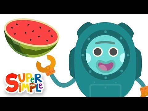 Thumbnail: The Bumble Nums Make Underwater Watermelon Salad | Cartoons for Kids