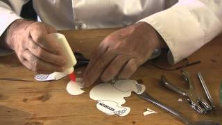Assembling Paper Western saddle kits for model or Breyer horses