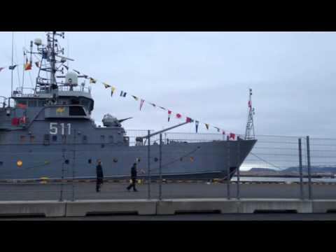 Polish Navy Secretly Filmed Testing a Stealth Cam Model Helicopter in Reykjavik Harbor