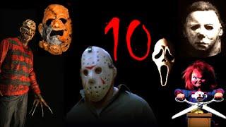 Top 10 Slashers