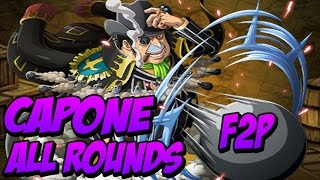 [OPTC Global] Capone Coliseum - All Rounds F2P