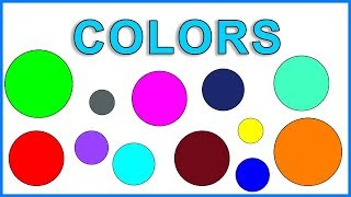 Learn Name Of Colours | Kids learning Video |