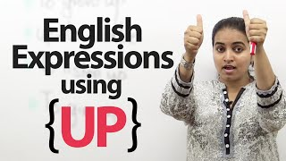 """Learn English Expressions using """"Up"""" - Free English Lessons"""