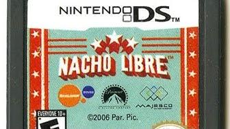 CGR Undertow - NACHO LIBRE review for Nintendo DS