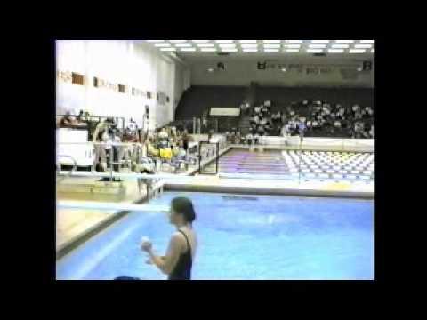 1985 Big 8 1 Meter Championship Part 4