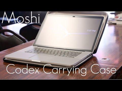 Sleeve / Case Hybrid - Moshi Codex Carrying Case - Retina MacBook Pro