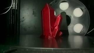 Печать кристалла пластиком T-SOFT Рубиновый Filamentarno