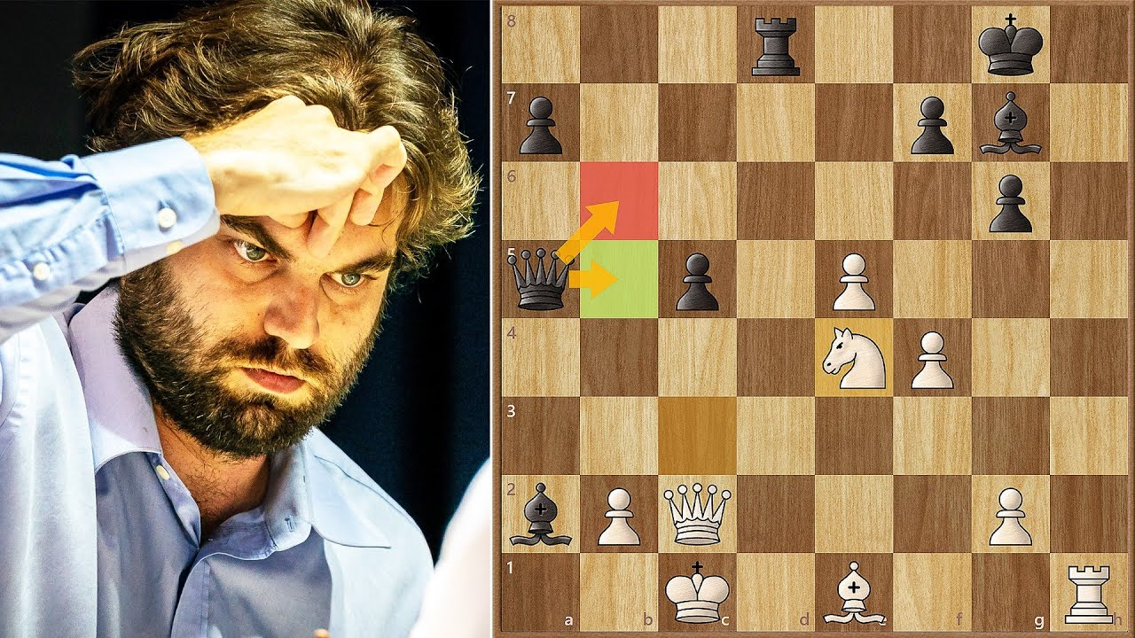 One Square Makes All The Difference!    Shankland vs Svidler    FWC (2021)