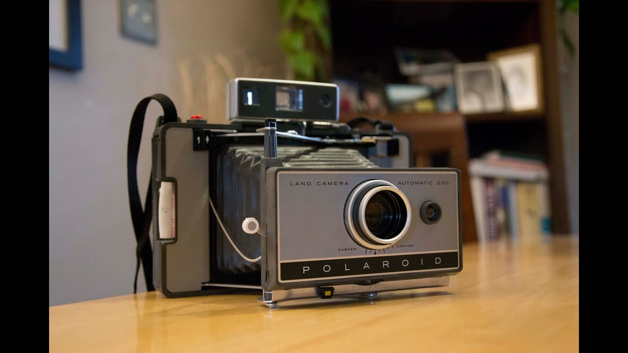 How to shoot with a Polaroid 230 Automatic Land Camera