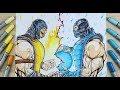 25+ Best Looking For Sub Zero Scorpion Mortal Kombat Drawing
