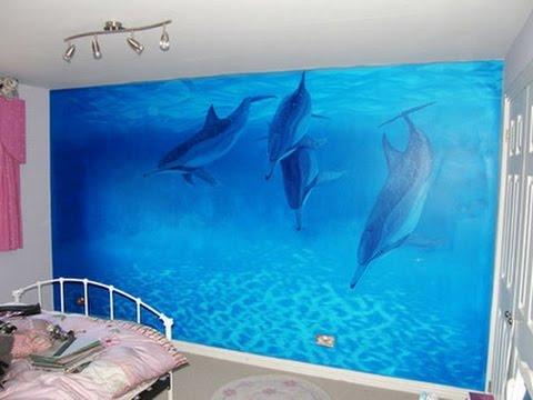 Dolphin Bedroom Decor Youtube