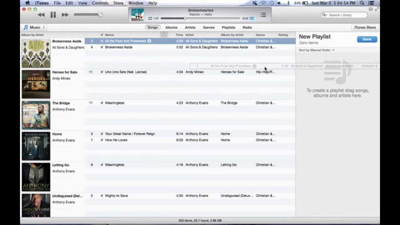 how do i make a playlist on my iphone how to make a playlist in itunes with macbook pro 6653