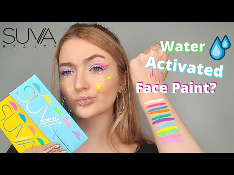 SUVA HYDRALINER UV BRIGHTS & UV TAFFIES PALETTES: TESTING & FULL SWATCHES (2021)   julypiesqueen