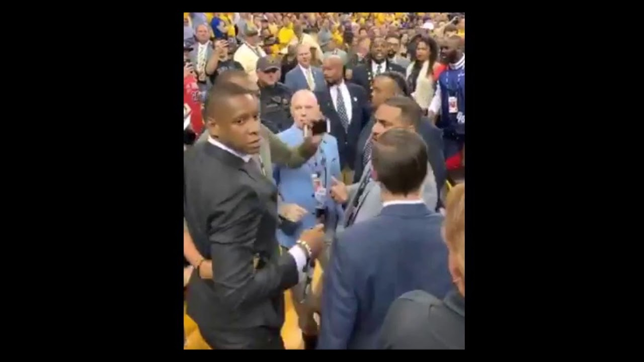 Oakland Authorities Seek Charges Against Raptors President Masai Ujiri For 'Battery Of Officer&