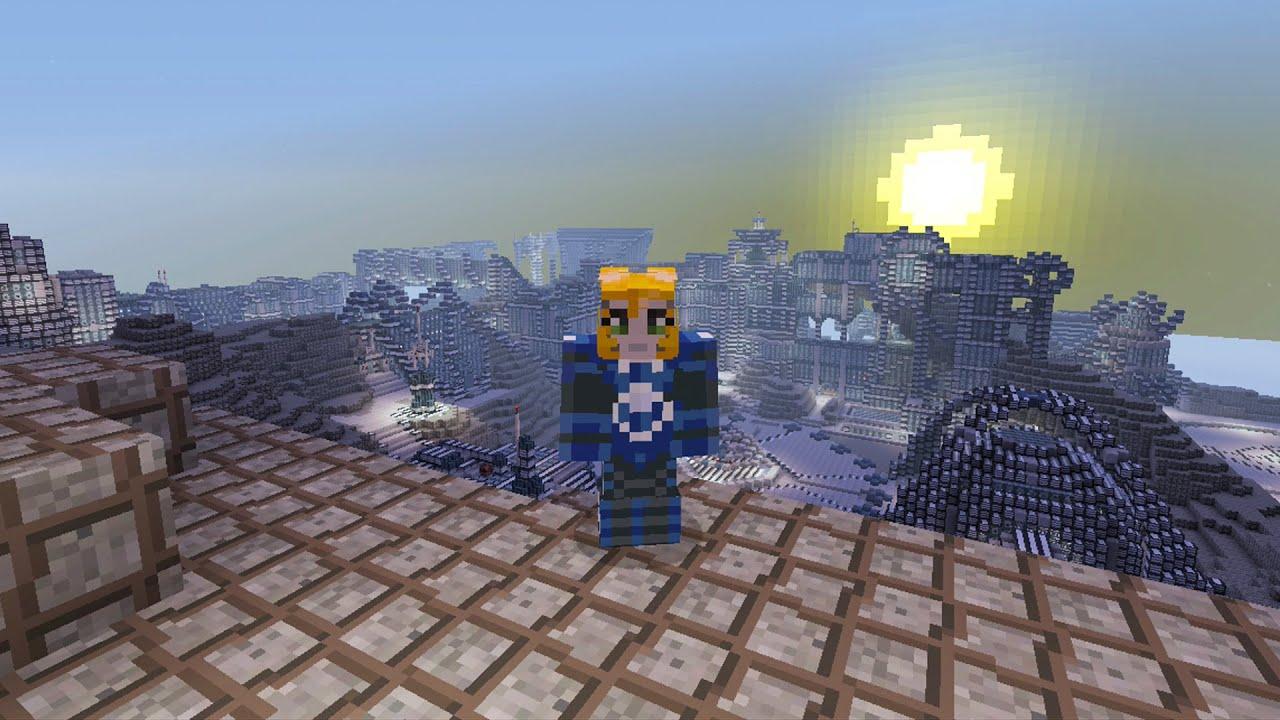 Minecraft Xbox - Mars Base - Hunger Games - YouTube