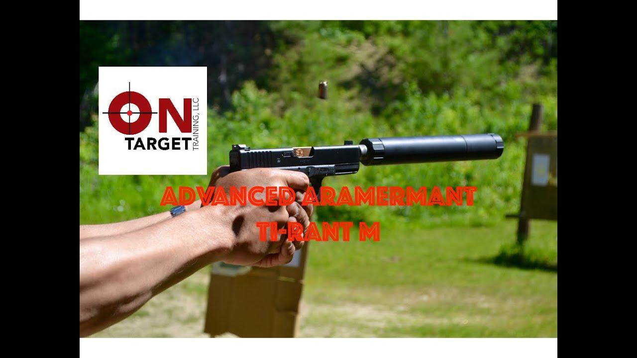 Advanced Armament Ti-RANT M  45 Suppressor