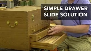 Hanging Drawers on Plastic Guide Rails