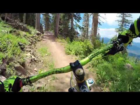 NM DH MTB: Angel Fire Bike Park : Ziggy with gimbal 2017