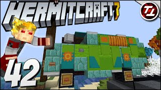 Mystery Machine and Graveyards! - Hermitcraft 7: #42