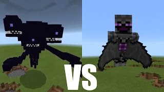 What Happens When You Spawn the Wither Storm & God Boss in Minecraft PE?