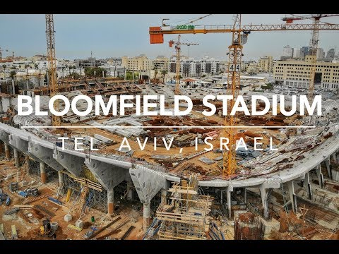 Bloomfield Stadium (In Renovations) From Above HD