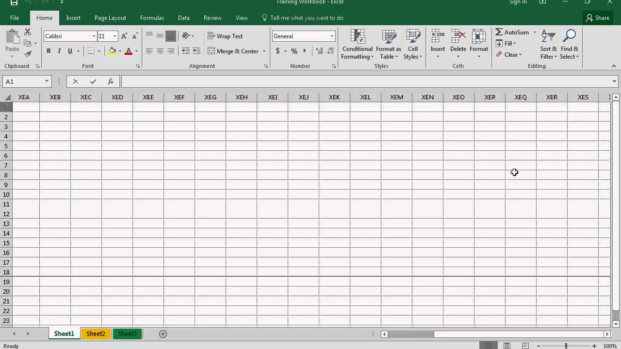 worksheet Workbook Vs Worksheet microsoft excel 2016 basic course difference between workbook and worksheet video no 5 0