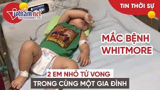Gia đình ở Hà Nội mất 2 con nhỏ trong nửa tháng do cùng mắc Whitmore | Tin tức Vietnamnet