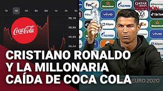 Las pérdidas económicas de Coca-Cola por el gesto de Cristiano Ronaldo en la Eurocopa