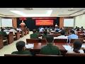 TP. HCM quán triệt, triển khai thực hiện đề án xây dựng chi bộ quân sự xã, phường, thị trấn