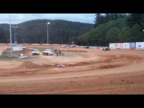 5-3-14 late model main coos bay speedway