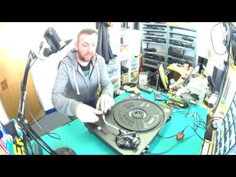Replacing damaged RCA leads and removing earth mods on Technics 1200 and 1210 turntables.